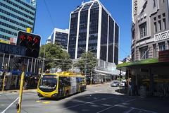 Willis street - Wellington (andrewsurgenor) Tags: trolleybuses trolleybus trolleys transit trackless trolleycoach trolleybuswellington trolebús trolejbusowy trolle obus gowellington nzbus