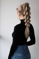 10 de la Queue de Cheval Tressée de Styles de Cheveux pour les Cheveux Longs (votrecoiffure) Tags: braidedhairstyles longhair longhairstyles ponytailhairstyles