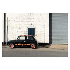 Cooper (John Pettigrew) Tags: lines tamron d750 nikon mini doors orange mundane documentary imanoot banal walls car topographics black cooper ordinary yellow johnpettigrew double