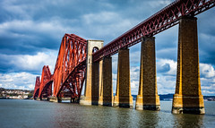 Forth rail bridge-Queensferry Scotland. (Stevie1089) Tags: queensferry bridge rail red