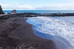 Sable volcanique (Chrisar) Tags: nikond750 dxophotolab angénieux2870 océanatlantique mer côte matin