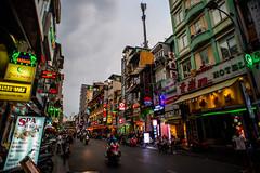 Saigon in an evening (Thanathip Moolvong) Tags: nikon d750 street evening city saigon hcmc vietnam