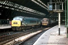 c.1969 - London (St Pancras). (53A Models) Tags: britishrail sulzer type4 class45 peak d35 diesel passenger london train railway locomotive railroad stpancras