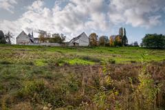 Colen Abbey (enneafive) Tags: abbey colen borgloon belgium autumn nature green marienlof sky clouds pastoral bucolic fujifilm xt2 affinityphoto