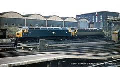 c.1969 - London (Kings Cross). (53A Models) Tags: brush britishrail railroad london train diesel railway locomotive kingscross 1561 class47 type4 1503