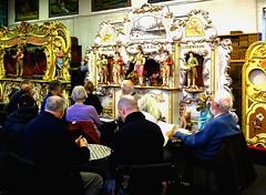 Sunday lunchtime concert, Amersham Organ Museum (Snapshooter46) Tags: sundaylunchtimeconcert amersham fairgroundorgan cafeorgan organmuseum buckinghamshire mechanicalmusic people janvaneykznn