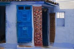 WC (JLM62380) Tags: wc lavatory toilettes afrique africa stair escalier chefchaouen morocco town ville bleu blue door porte painting peinture