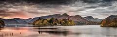 Derwent Sunrise (petebristo) Tags: green derwentwater derwentisle lakedistrict lakes reflections cumbria