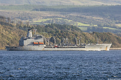 USNS Henry J Kaiser-class naval oiler USS Leroy Grumman, T-AO 195, IMO 8511500; Firth of Clyde, Scotland (Michael Leek Photography) Tags: ship boat vessel workingboat workboat nato navalvessel warship replenishmentship navalauxiliary usa unitedstatesnavy unitedstatesofamerica usn msc militarysealiftcommand clyde hmnbclyde hmnb hmsneptune faslane gareloch firthofclyde holyloch cowal cowalpeninsula strone inverclyde gourock scotland scottishlandscapes scottishcoastline scotlandslandscapes scottishshipping westcoastofscotland westernscotland michaelleek michaelleekphotography