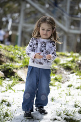 (louisa_catlover) Tags: portrait family child toddler daughter tabitha tabby mtdonnabuang warburton melbourne victoria australia snow spring