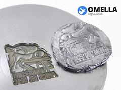 TROQUEL INSIGNIA (www.omellagrabados.com) Tags: troquel de insignia pin acero omella