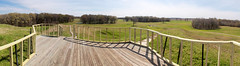 Panorama View from Bird Mound - HFF! (RPahre) Tags: fence hff panorama pano louisiana povertypoint povertypointnationalmonument indigenous native american americanindian archaeology prehistory