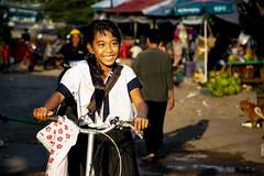 Bicycle; Sihanoukville (Valdas Photo Trip) Tags: cambodia sihanoukville street photography