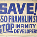 Save Franklin Street Sign