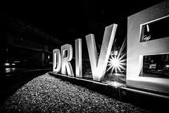 DRIVE (blende9komma6) Tags: drive fahren night light car auto mc donald street nacht licht bw sw letters wort city urban nikon z6 langzeitbelichtung