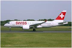 HB-JBE Airbus A220-100 (Bombardier CSeries CS100 BD-500-1A10) | Swiss International Air Lines | Manchester MAN/EGCC | 29.06.2019 (<Steven>) Tags: man manchesterairport egcc swissinternationalairlines swiss airbusa220 bombardiercs100