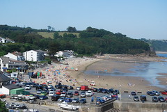 Saundersfoot (Halliwell_Michael ## Offline mostlyl ##) Tags: tenby2019 2019 nikond40x wales saundersfoot beach trees sea coast landscapes seascapes pembrokeshire