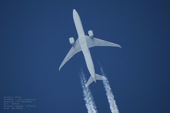taken from my backyard 086 (planes, space, nature) Tags: saudia sv41 jeddah los angeles boeing 7773fger 34 457 hzak39
