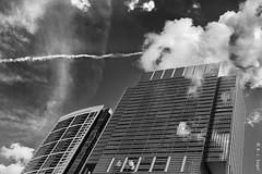 Blue Cross Building and 340 Randolph Condos, Sky Drama (rjseg1) Tags: chicago architecture skyscraper skyline bluecross
