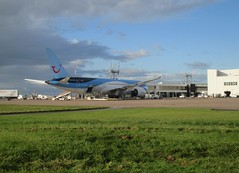Photo of G-TUIK on stand 7.