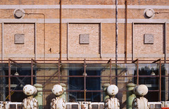 Converted Factory Gallery (Taomeister) Tags: ektachromee100 contaxg2 beijingchina 798artzone planart45mmf2 newektachrome kodake100