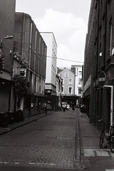 Dublin Town beside Keogh's pub (Mark Carmody) Tags: film filmisnotdead filmphotography filmisalive ishootfilm canon canona1 kosmo foto kosmofoto 100 dublin mayo