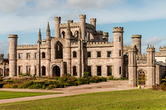 Lowther Castle (ruins) (Keith now in Wiltshire) Tags: lowther castle fort ruins gothicrevival architecture mansion building landscape sky grass lawn garden stone wall tower turret keep castellation lakedistrict nationalpark cumbria england tourism