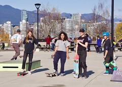 Skate Jam at Helena Gutteridge Plaza (VIVA_Vancouver) Tags: vivavan vsbc vivask8 vancouverskateboardcoalition vivavancouver skate sk8 tacticalurbanism publicspace
