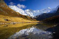 Arpitetta (Tounis_9) Tags: canoneosm50 canonefm1545mmf3563isstm landscape valais switzerland alps mountains lake snow autumn