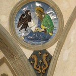 05в Капелла Пацци. Медальон ап.Иоанна Богослова. Лука Делла Робиа 14