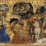 16 Джентиле да Фабриано. Поклонение волхвов, 1423. Уффици