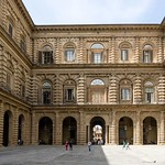 10в Аманатти Палаццо Питти Внутренний двор 1560