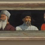 13 Неизв флорентийский мастер 5 флорентийских мастеров конец XV в Лувр