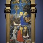 21 Паоло Учелло Поклонение Младенцу св.Иеронима, Марии Магдалины и св.Евстафия 1430-40