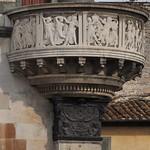 33b Донателло. Рельефы кафедры собора св.Стефана в Прато 1428-38