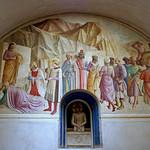 39в Фра Беато Анжелико. Поклонение волхвов. Фреска в келье м-ря Сан-Марко, 1438-45