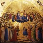 38 Фра Беато Анжелико. Коронование Марии 1434-35. Уффици