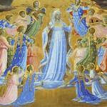 37а Фра Анджелико. Вознесение Богородицы. Фрагмент, 1432