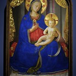 36 Фра Анжелико. Богородица с младенцем 1430. Вашингтонская Нац. галерея