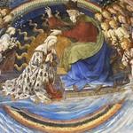 34d Филиппо Липпи. Коронование Богородицы, 1467-69. Главный алтарь Успенского собора в Сполетто