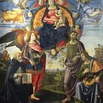 57 Гирлондайо Богородица со святыми 1490 Мюнхенская Пинакотека