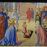 54 Беноццо Гоццоли. Св Зиновий воскрешает младенца 1461 Берлинская галлерея