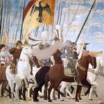 65d П. дела Франческа. Битва Константина с Максенцием. Легенда о Кресте