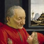 61 Доменико Гирлондайо Дедушка и внук 1490 Лувр