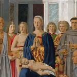 71a Алтарь Федериго да Монтефельтро, фрагмент, 1472