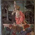66 П. дела Франческа. Воскресение Христово. 1460-е. Фреска в палаццо Комунале С-Сеполькро