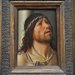 77 Антонелло да Мессина Стражду щийц Христос 1476-78