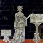 92c Эритрейская Сивилла. Напольная мозаика Сиенского собора, 1483