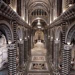92a Сиенский собор, интерьер