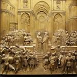 96e Л.Гиберти Встреча Соломона и царицы Савской